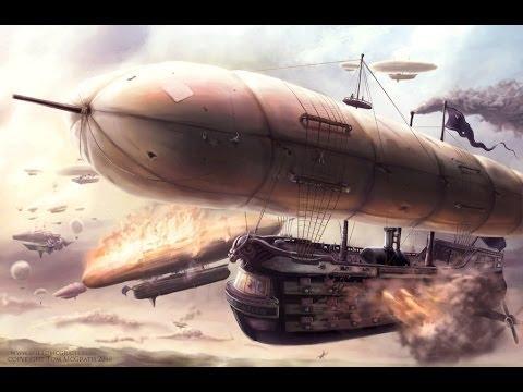 Steampunk Techno Music - Sky Ships