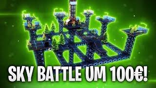 SKY BATTLE UM 100€! 🔥 | Fortnite: Battle Royale