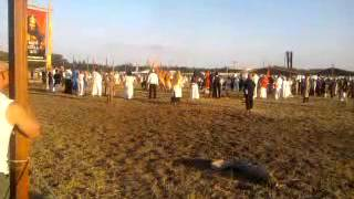 Kurultáj 2013 - Hungarian historical show, ending ceremony
