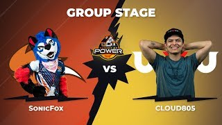 SonicFox vs Cloud805 - Group Stage: Pool A - Summit of Power