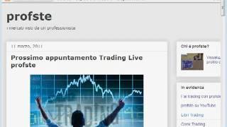 Analisi Mercati Finanziari - profste - 01 Aprile 2011