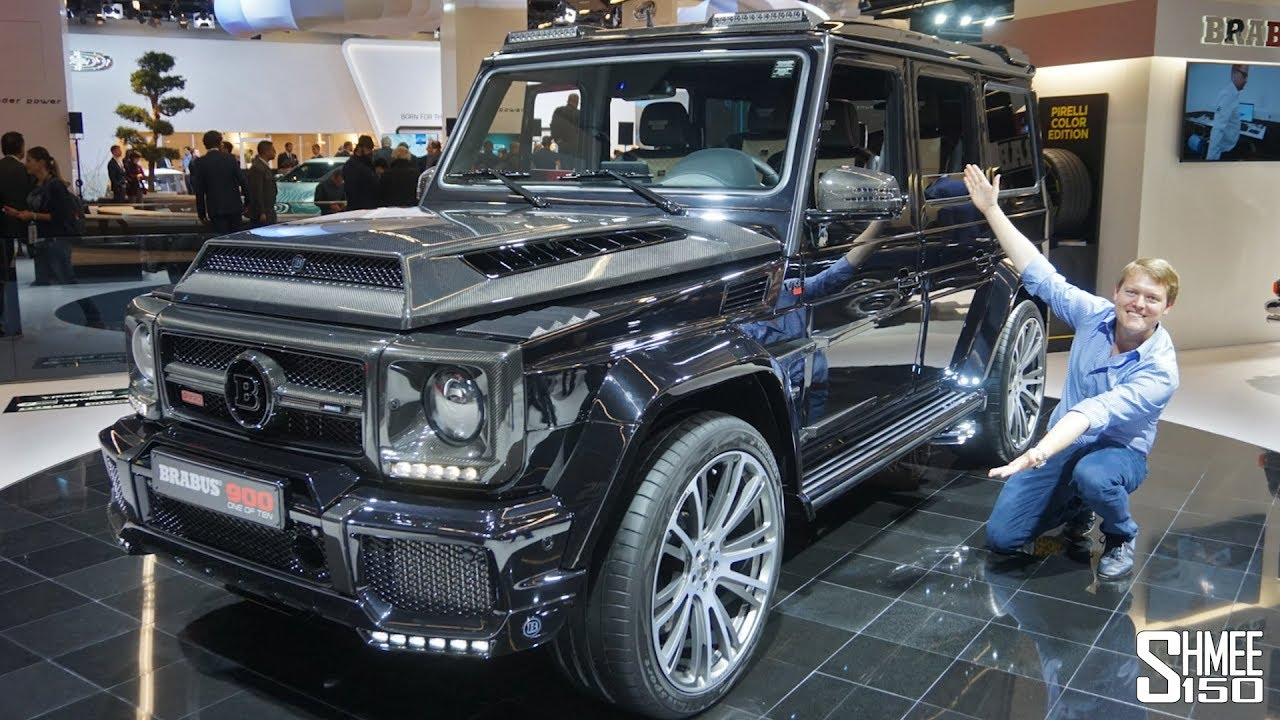 2019 G Wagon >> The Brabus 900 One of Ten is a €666,000 Hyper-G Class! - YouTube