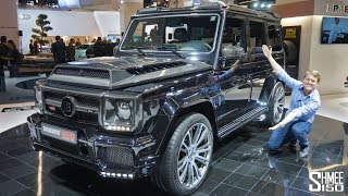 The Brabus 900 One of Ten is a €666,000 Hyper-G Class!