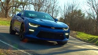 2016 Chevrolet Camaro SS - TestDriveNow.com Review by Auto Critic Steve Hammes