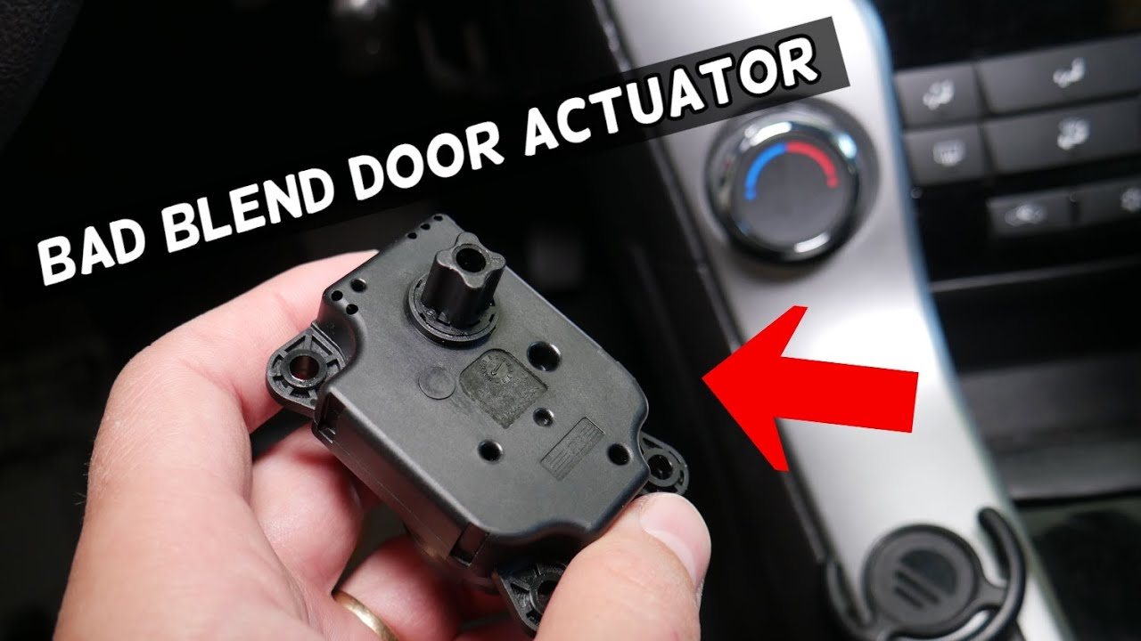 Symptoms Of Bad Blend Door Actuator Youtube