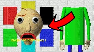 BALDI'S HEAD IS MISSING! | Baldi's Basics
