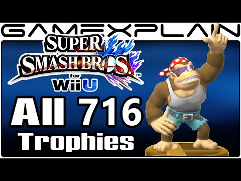 All 716 Trophies in Super Smash Bros. Wii U