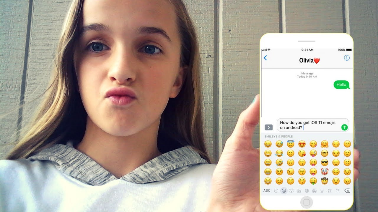 HOW TO GET IOS 11 EMOJIS ON ANDROID!!! (NO ROOT😁)