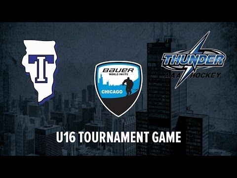 Team Illinois v Thunder Hockey, AL // U16 Tournament Game