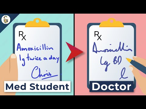 Why Doctors Have Bad Handwriting! - Real Doctor Explains