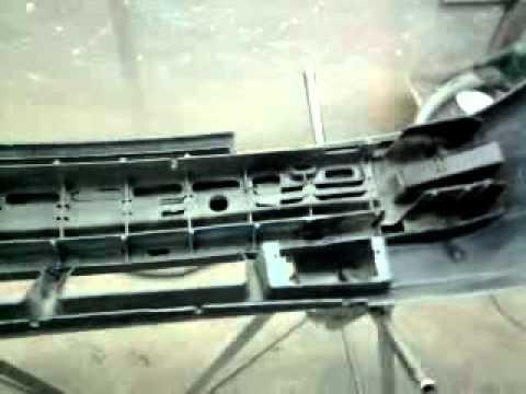 Ремонт бампера ВАЗ-10 после ремонта