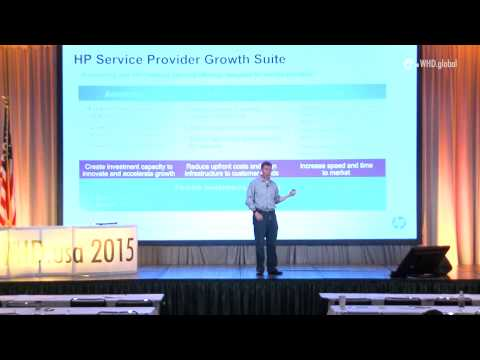 WHD.usa 2015 - Dave Peterson - Five reasons why HP should be your infrastructure choice