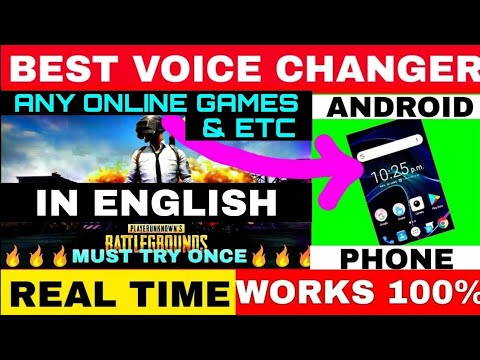 How To Change Voice In Pubg Mobile Voice Changer App For Android Change Voice In Pubg Like Gareeb