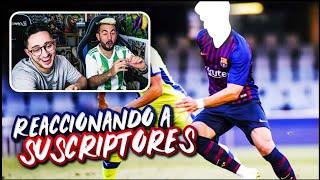 REACCIONANDO A GOLAZOS Y JUGADAS INCREIBLES DE SUSCRIPTORES ft. Spursito