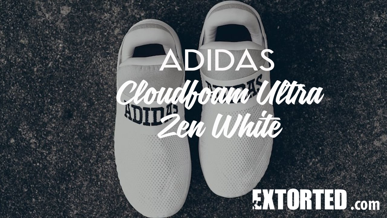 17b0b1ccac489 New release sneakers  adidas Originals has released the adidas Cloudfoam  Ultra Zen White.