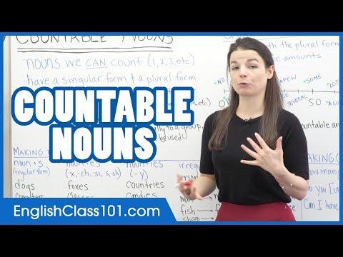 Countable Nouns - Learn English Grammar