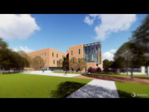 Tarleton Engineering Building, animation