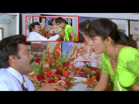Chiranjeevi & Ramya Krishna Passionate Scenes || Telugu Movie Scenes || TFC Cinemalu