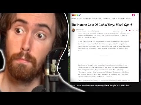 "Asmongold Reactions ""WOW... What Activision Are Subjecting These People To Is TERRIBLE..."""