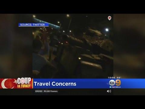 Turmoil In Turkey Causes Nightmares For Travelers