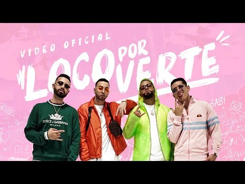 Justin Quiles, Lenny Tavarez & Los Hitmen - Loco Por Verte   (Video Oficial)