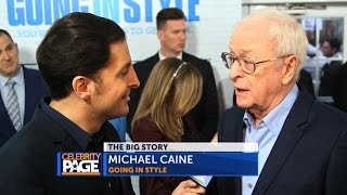 Going In Style Premiere with Morgan Freeman, Michael Caine, Alan Arkin & Zach Braff