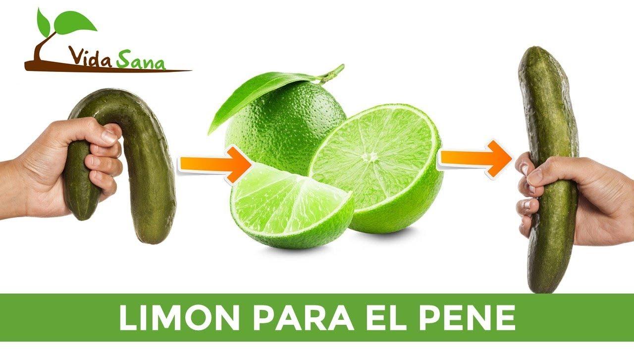 Mira Lo Que Pasa Cuando Usas Limón Para El Pene - Los Resultados Te Sorprenderán - Vida Sana #1