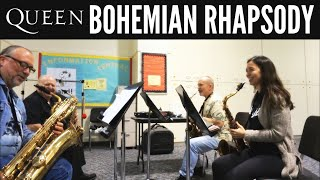 Bohemian Rhapsody Cover ~ Saxophone Quartet