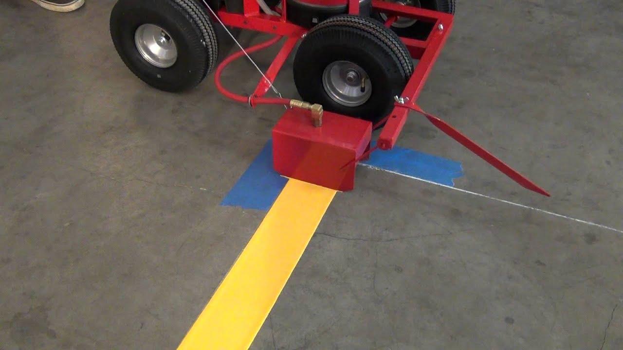 Painting Indoor Warehouse Trueline Air Pressure Tank