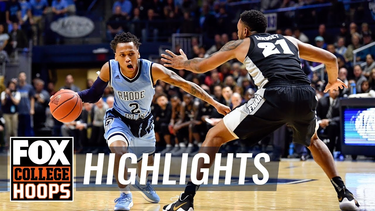 Rhode Island gets hot late, beats Providence 75-61  HIGHLIGHTS