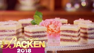 FINALE: Mini Kuchen Petit Fours | Aufgabe | Das große Backen 2018 | SAT.1 TV