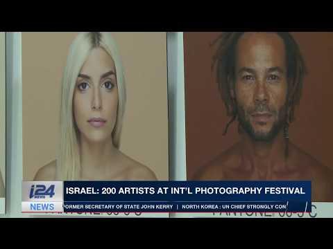 Israel: 200 photographers flock to Int'l Photo Fest in Tel Aviv, i24NEWS