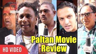 Paltan Movie Full Review | Gaiety Galaxy Bandra | Sonu Sood, Jackie Shroff, Gurmeet, Harshvardhan