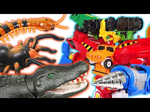Thumbnail: A big crocodile appeared! I'll show you the strength of Hello Carbot Hyperbuildian - DuDuPopTOY
