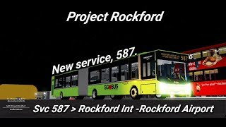Go-ahead Roblox| newly debut service 587 | Rockford Int - Rockford Airport|