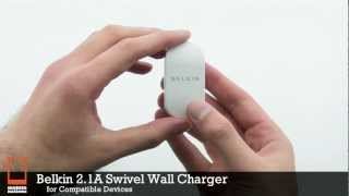 Belkin 2.1A Swivel Wall Charger with Lightning Connector