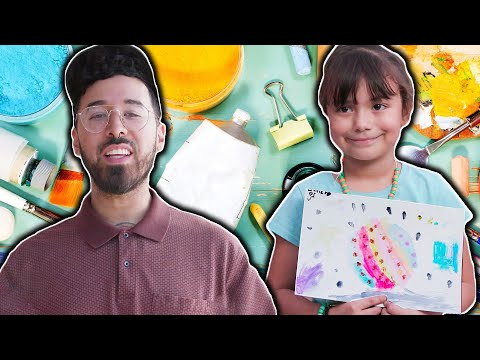 Curly Finds Out How Art Is Transforming Kids Lives // Presented by BuzzFeed & State Farm