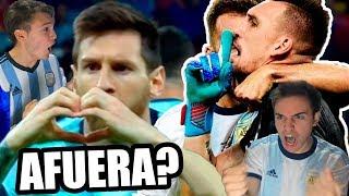 REACCIONES DE UN HINCHA Argentina vs Paraguay - Copa América 2019 (Amigos)