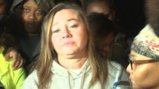Aniah Blanchard's mother speaks at vigil after remains discovered in Macon County