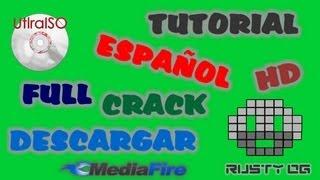 TUTORIAL COMO MONTAR UNIDAD VIRTUAL ISO CON ULTRAISO MEDIAFIRE ESPAÑOL HD