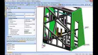 Femap and NX Nastran Free Body Diagram FBD Five Minute Tutorial
