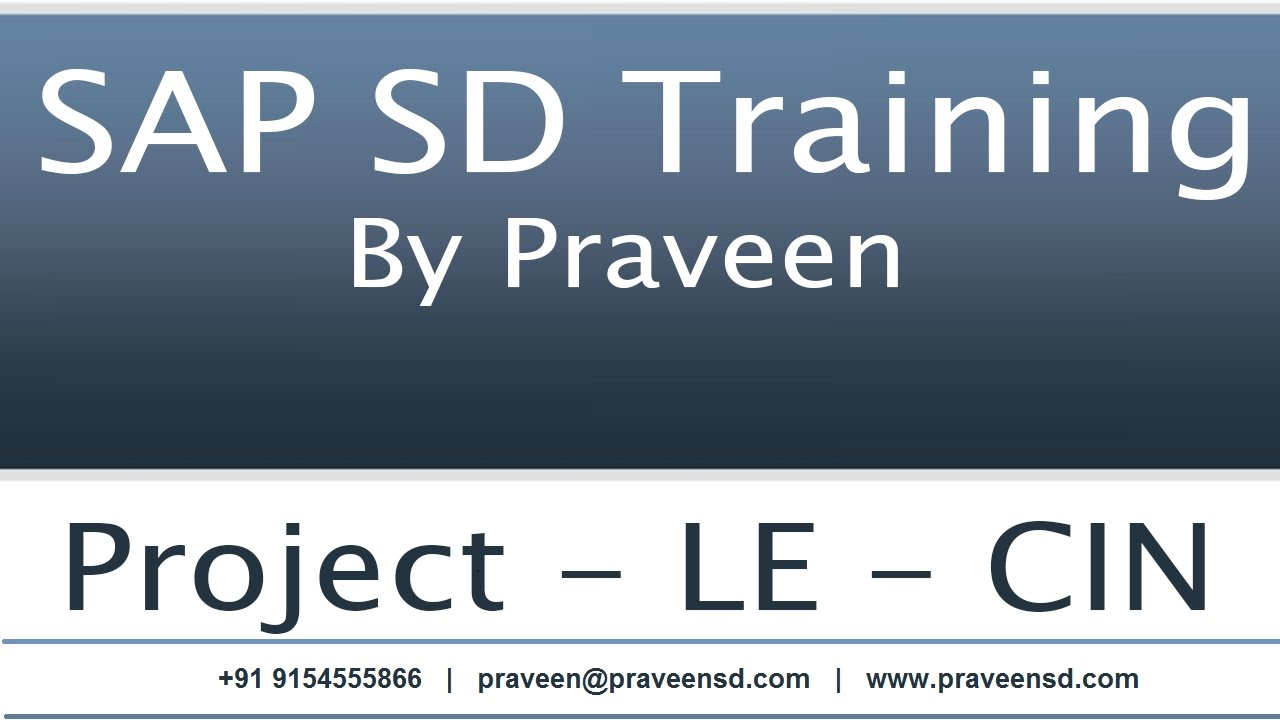 SAP SD Availability Check Configurations and controls | SAP SD Training By  Praveen
