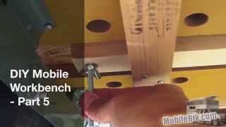 "Diy Portable ""mobile Workbench"" For Your Camper (or Tiny House/apartment) - Part 5"