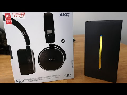 Samsung Galaxy Note 9 AKG N60 Headphone Unboxing