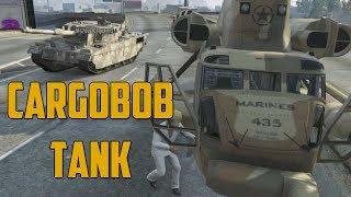CARGOBOB TANK COMBO! (GTA V Online w/ Goldy & Ally)