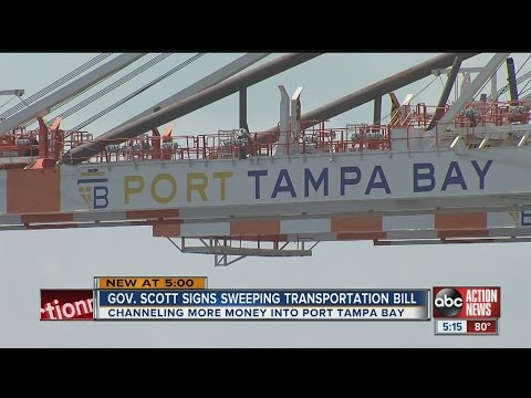 Gov. Rick Scott signs sweeping transportation bill that helps Florida's ports
