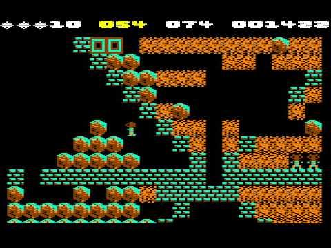 C64 Longplay - Boulder Dash Monday (Caves 1 To 16)
