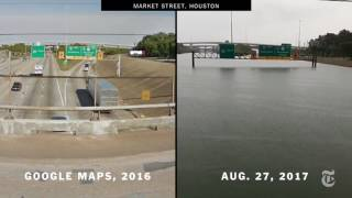 Houston, Before and After Harvey