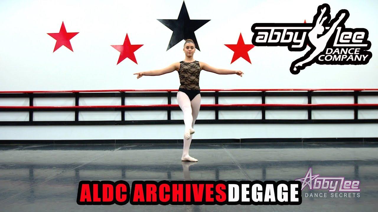 ABBY LEE DANCE SECRETS : DEGAGE