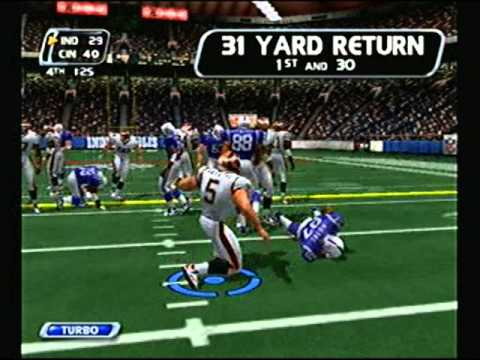 NFL Blitz 2003 - Cincinnati Bengals at Indianapolis Colts (2nd Half)